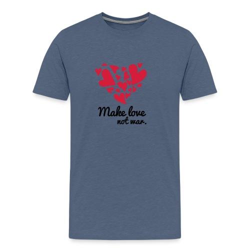 Make Love Not War T-Shirt - Men's Premium T-Shirt