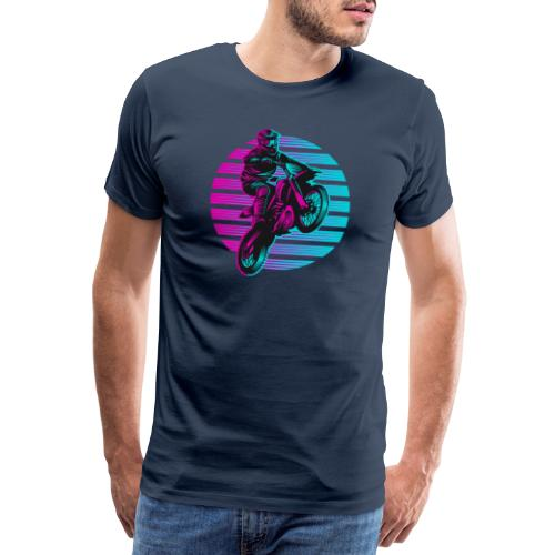 Motocross 2 colour - Männer Premium T-Shirt
