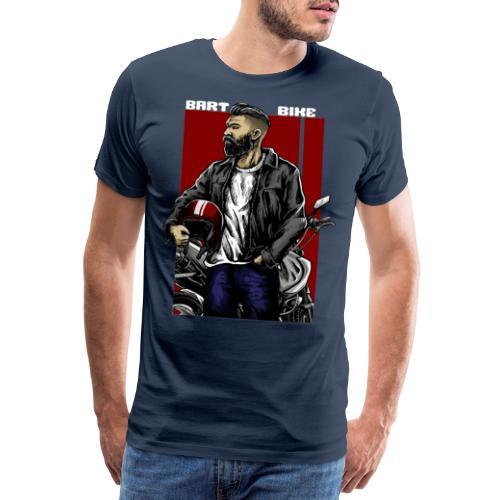 BART & BIKE - Männer Premium T-Shirt