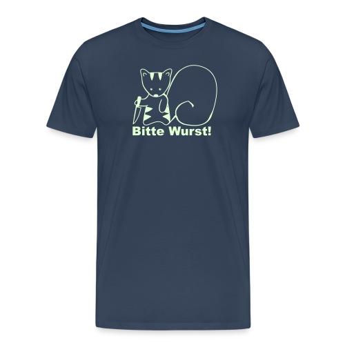 bitte wurst! - Männer Premium T-Shirt