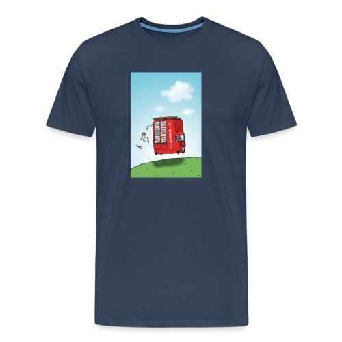 Feuerwehrwagen - Männer Premium T-Shirt