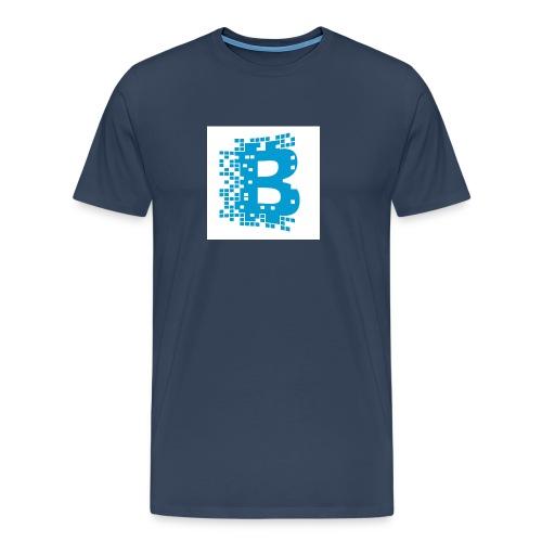 blockchain - Mannen Premium T-shirt