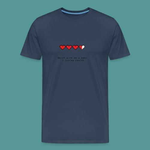 The Legend of Drunk - Mannen Premium T-shirt