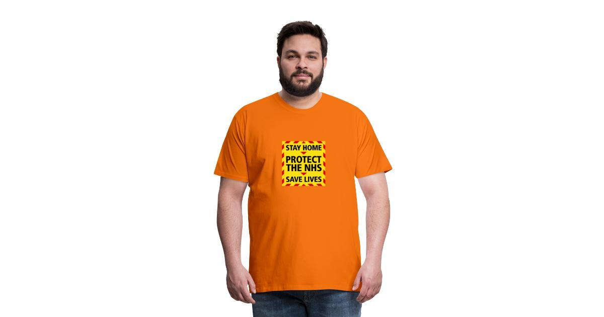 Save life  Stay Home Protect the NHS STAY HOME Men/'s Women/'s Kid/'s Top T-Shirt