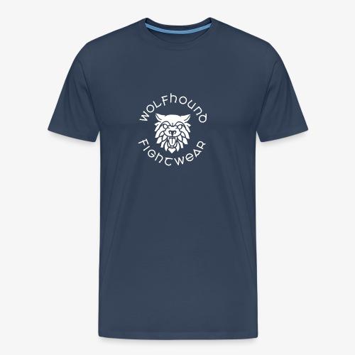 logo round w - Men's Premium T-Shirt