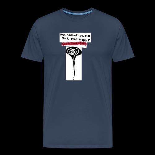 schwarzes lochohne signatur - Männer Premium T-Shirt
