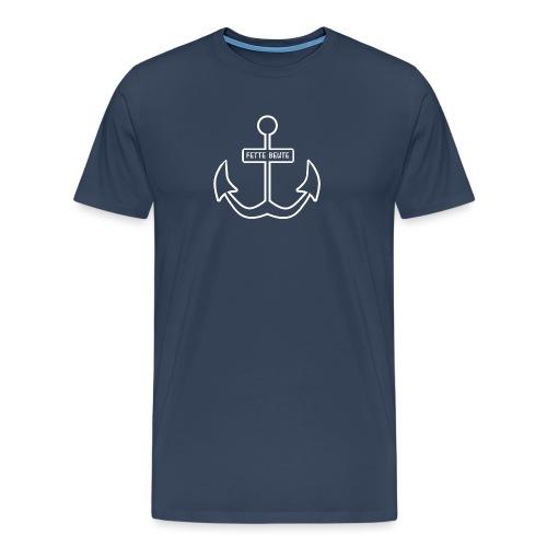 Anker-T-Shirt für Nachwuchspiraten - Männer Premium T-Shirt