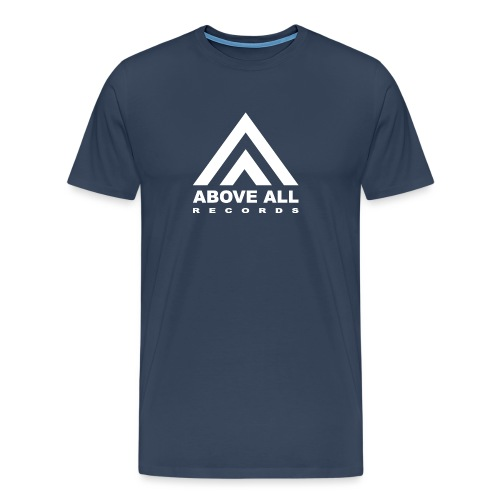 Above All logo White - Men's Premium T-Shirt