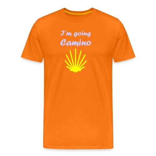Going Camino - Herre premium T-shirt