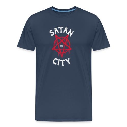 satan city 666 - T-shirt Premium Homme