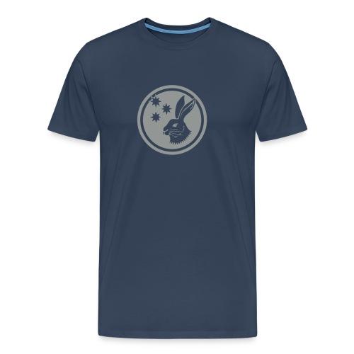 Reilinger Hase im Kreis - Männer Premium T-Shirt