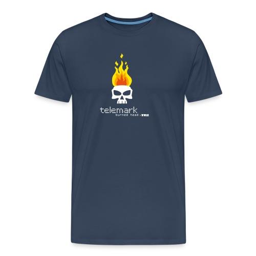 T burnheadRed 1 - T-shirt Premium Homme