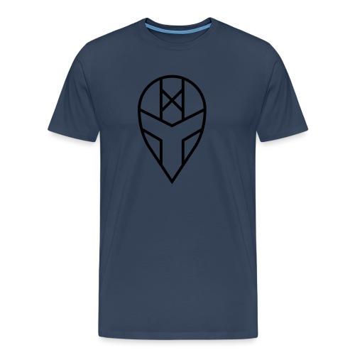 hmdhki v1 kypärä - Miesten premium t-paita