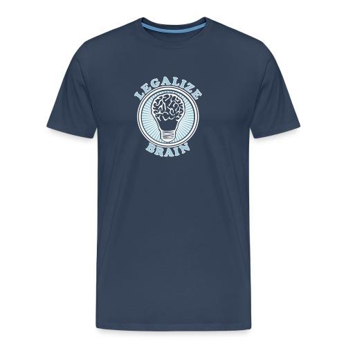 legalize brain - Männer Premium T-Shirt