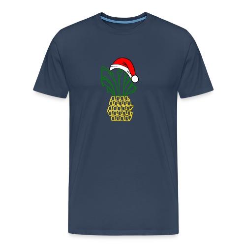 weihnananas1 - Männer Premium T-Shirt