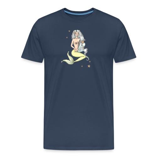 mermaid - Premium-T-shirt herr