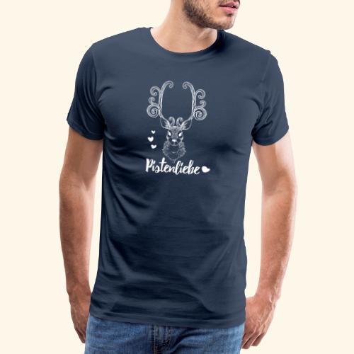 pistenliebe weiß - Männer Premium T-Shirt