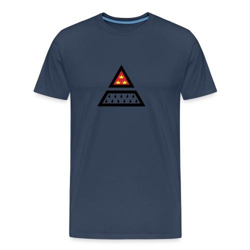 Köln Wappen Dreieck Farbe - Männer Premium T-Shirt