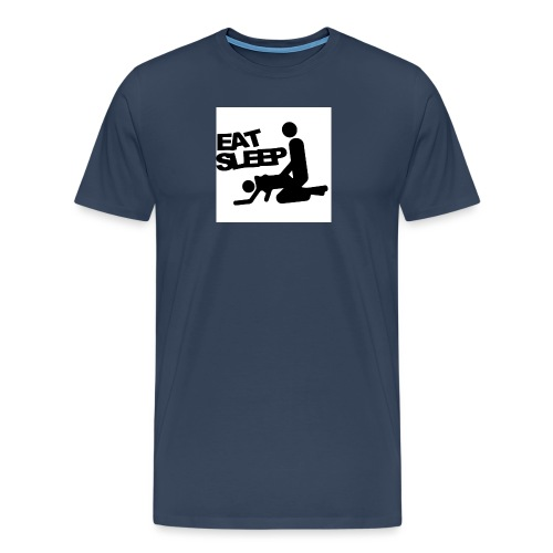 25 4CM 19 4CM Eat font b Sleep b font Car font b - Men's Premium T-Shirt