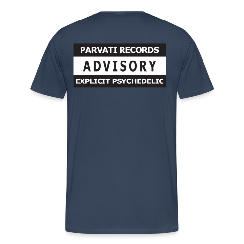 Advisory Explicit Psychedelic - Men's Premium T-Shirt