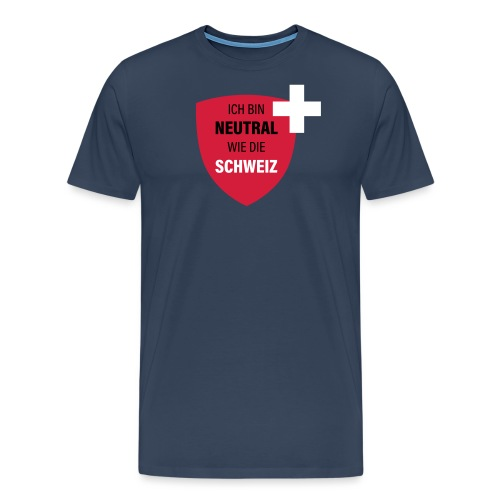 Neutral wie die Schweiz - Männer Premium T-Shirt