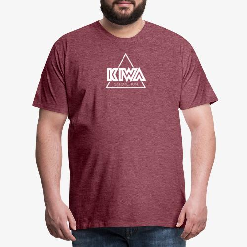 KIWA Satisfiction White - Men's Premium T-Shirt