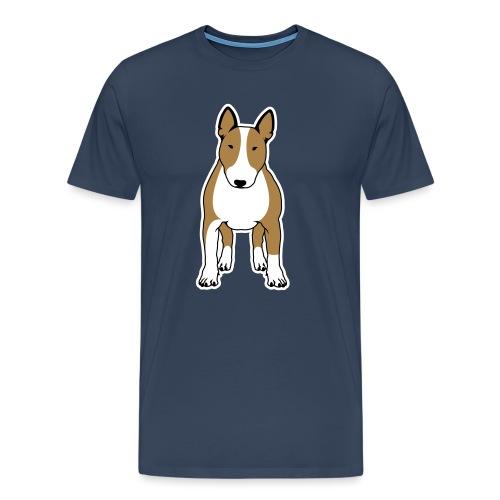 BULLTERRIER FRONT colored - Männer Premium T-Shirt