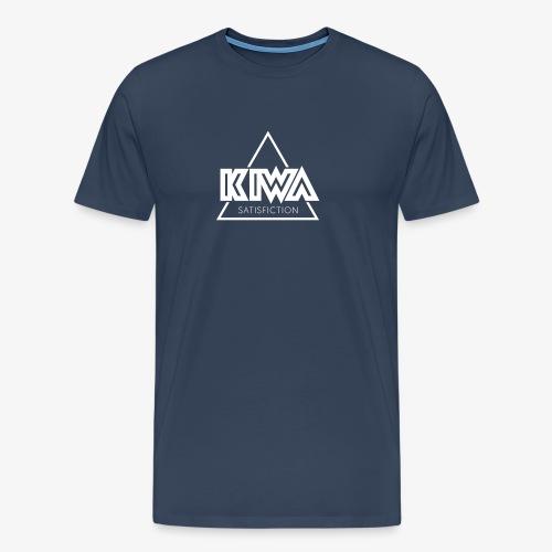 KIWA Satisfiction White - Men's Premium T-Shirt