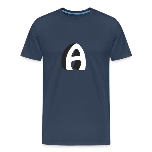 Alfa Kv | Basebal T-Shirt - Mannen Premium T-shirt