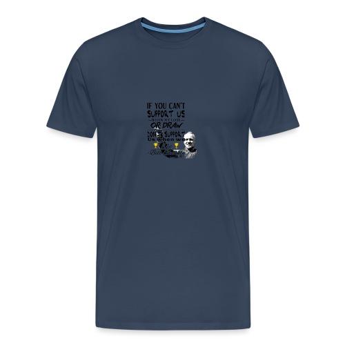 Bill Shankly - Barntröja - Premium-T-shirt herr