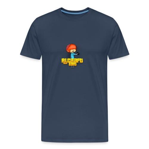 Diseño Simple AlCraft Edit - Camiseta premium hombre