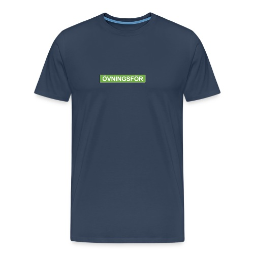 ÖVNINGSFÖR - Premium-T-shirt herr