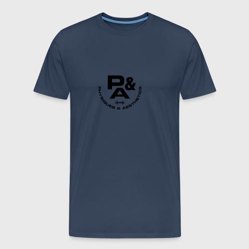 CAMISETA AJUSTADA P&A BLANCO - Camiseta premium hombre