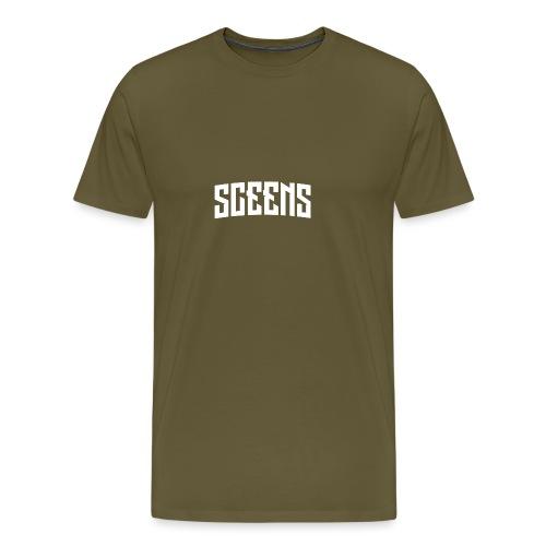 Sceens Baseball Cap - Mannen Premium T-shirt