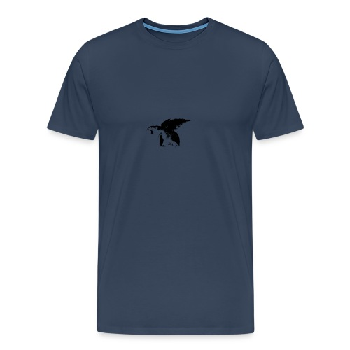 winged bear - Mannen Premium T-shirt