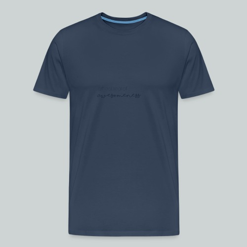 Official Seal of Awesomeness - Premium-T-shirt herr