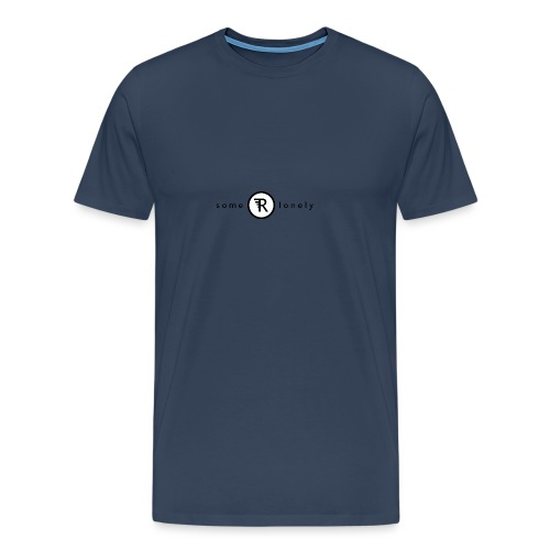 Some Are Lonely - Ekologisk T-shirt i killstorlek - Premium-T-shirt herr