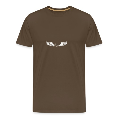 Seraph Wings white - T-shirt Premium Homme