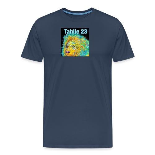 Tahlie 23 lion logo - Men's Premium T-Shirt