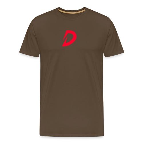 Destra Logo by Atelier render red - Mannen Premium T-shirt