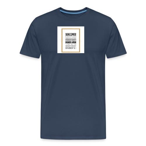 Bonusmor - Herre premium T-shirt
