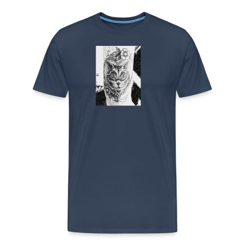 Tatoocat - Maglietta Premium da uomo