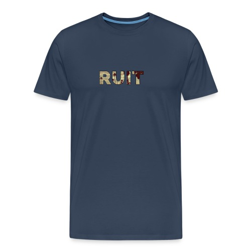 Ruit Palm Trees - Mannen Premium T-shirt