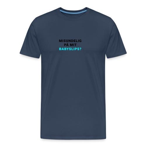 Babyslips - Herre premium T-shirt