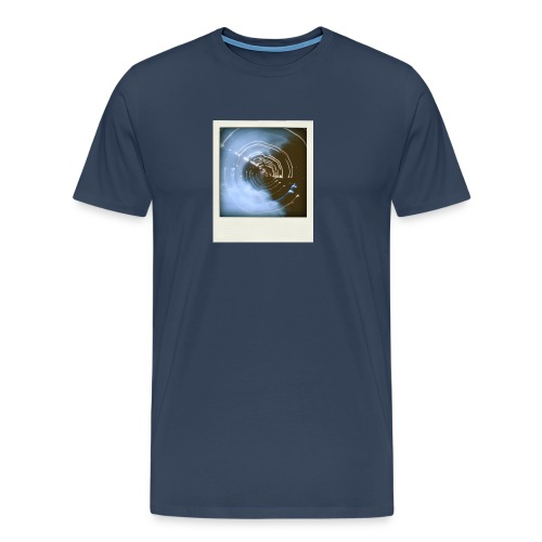 T-shirt Light-painting Polaroid - T-shirt Premium Homme