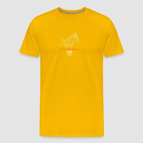 lurr unicorn - Men's Premium T-Shirt