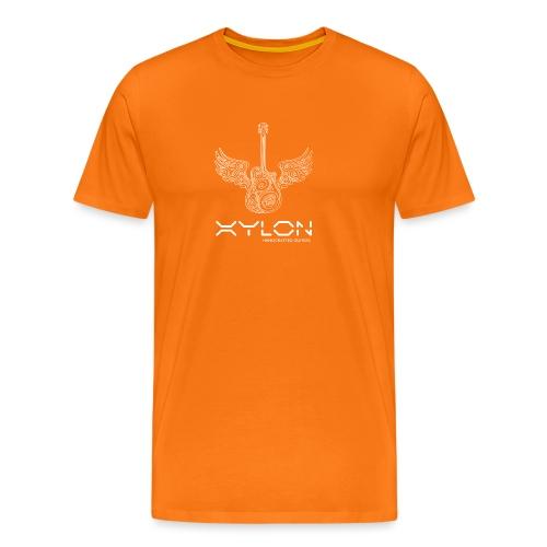 Xylon Guitars Premium T-shirt (white design) - Men's Premium T-Shirt