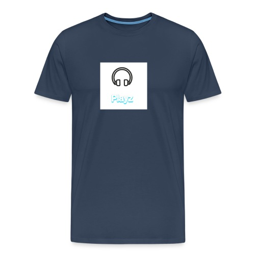 Headphone playz - Men's Premium T-Shirt