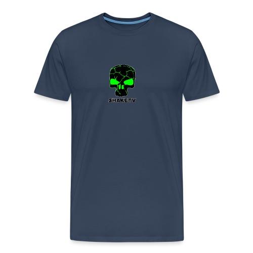 shaketv verde scritta sotto contorno bianco 4 - Maglietta Premium da uomo