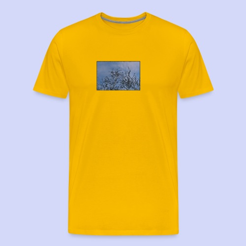 Summer times - Male shirt - Herre premium T-shirt